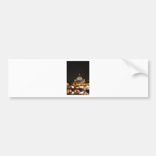 St Peter's Basillica Car Bumper Sticker