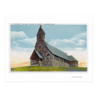 St. Peters-by-the-Sea Episcopal Church Postcard