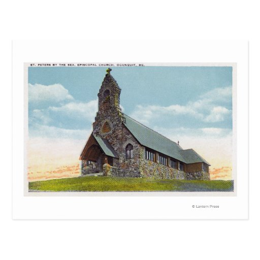 St. Peters-by-the-Sea Episcopal Church Post Cards
