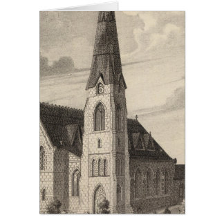 St Peter's Church and parochial residence Card