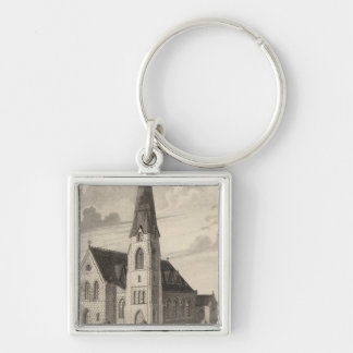 St Peter's Church and parochial residence Keychain