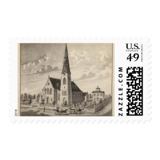 St Peter's Church and parochial residence Postage