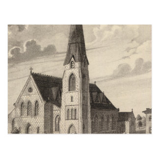 St Peter's Church and parochial residence Postcard
