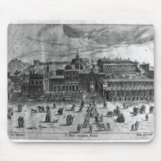 St. Peter's Church, from 'Views of Rome' Mouse Pad