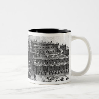 St. Peter's Church, from 'Views of Rome' Two-Tone Coffee Mug