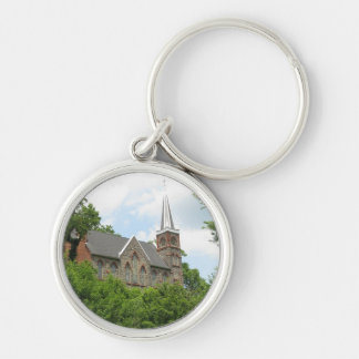 St. Peter's Church, Harpers Ferry, WV Keychain