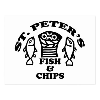 St. Peter's Fish & Chips Postcard