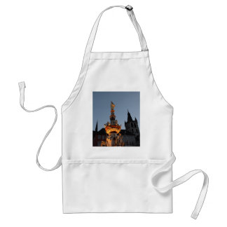 St Peter's Fountain In Trier Adult Apron