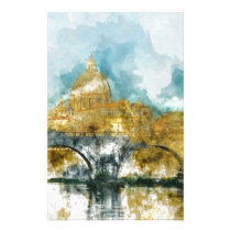 St. Peter's in Vatican City Rome Italy Stationery