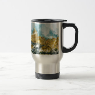 St. Peter's in Vatican City Rome Italy Travel Mug