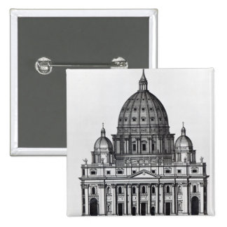 St. Peter's, Rome, engraved by C. Campbell Button