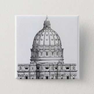 St. Peter's, Rome Pinback Button
