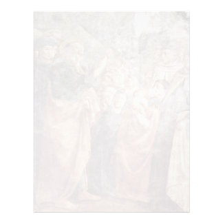 St. Peter'S Sermon To The Masses By Masolino (Best Personalized Letterhead