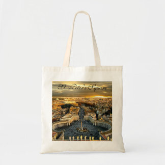St. Peter's Square, Budget Tote Tote Bags
