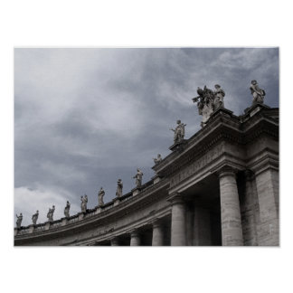 St.Peter's Square - Colonnade Poster