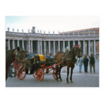 St Peter's Square, Horse and carriage Post Card