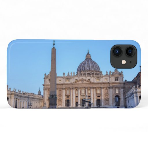 St. Peter's Square in Vatican City - Rome, Italy iPhone 11 Case