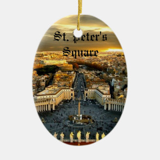 St. Peter's Square, Oval Ornament
