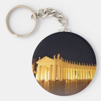 St Peters Square pillars in the evening Keychain