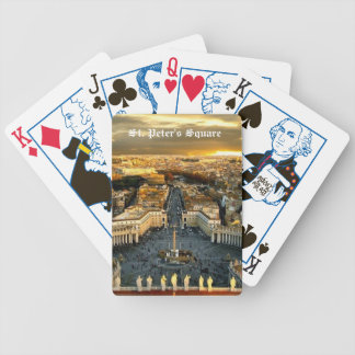 St. Peter's Square, Playing Card Bicycle Playing Cards