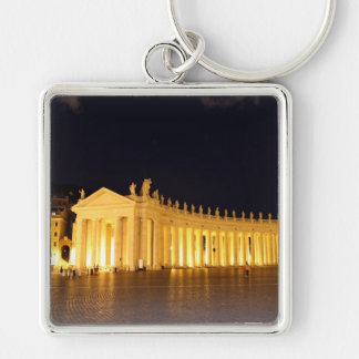 St Peters Square roman columns in the evening Keychain