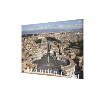 St Peters Square, Rome Canvas Print