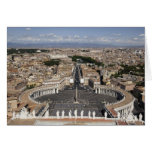 St Peters Square, Rome Card