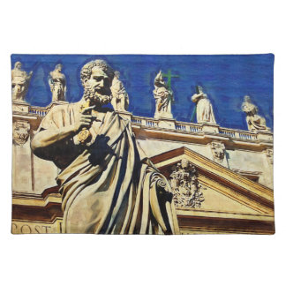 St Peter's Square Rome Cloth Placemat