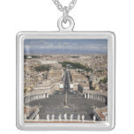 St Peters Square, Rome Custom Necklace