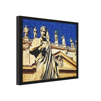 St Peter's Square Rome Gallery Wrapped Canvas