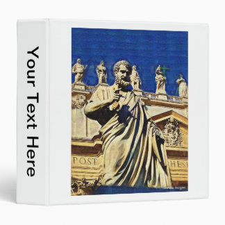 St. Peters Square Rome Italy Binder