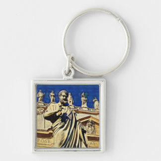 St. Peters Square Rome Italy Keychain