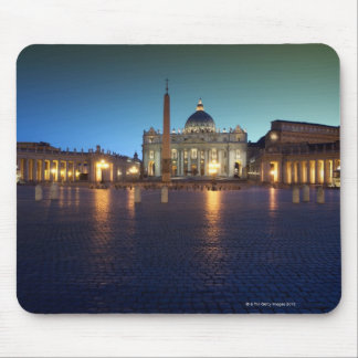 St Peters Square Rome Italy Mouse Pad
