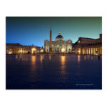 St Peters Square, Rome, Italy Postcard