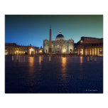 St Peters Square, Rome, Italy Poster
