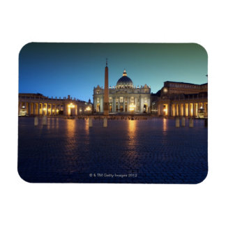 St Peters Square, Rome, Italy Flexible Magnet