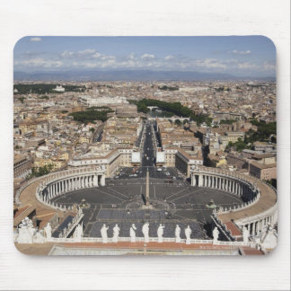 St Peters Square, Rome Mouse Pad