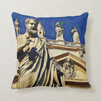 St Peter's Square Rome Pillow