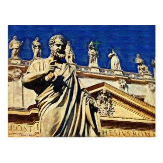 St Peter's Square Rome Postcard
