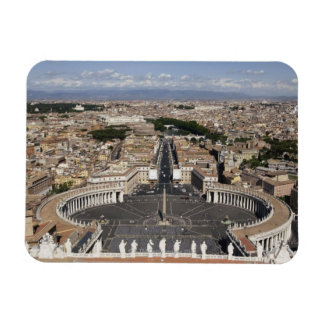 St Peters Square, Rome Rectangular Magnets