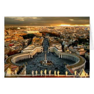 St Peter's Square, Vatican Card