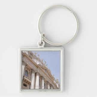 St Peter's Square, Vatican City, Rome, Italy Keychain