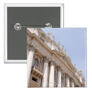 St Peter's Square, Vatican City, Rome, Italy Pinback Button