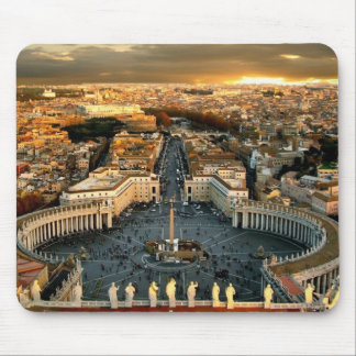 St Peter's Square Vatican Mouse Pad