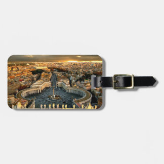 St Peters Square Vatican Tags For Luggage