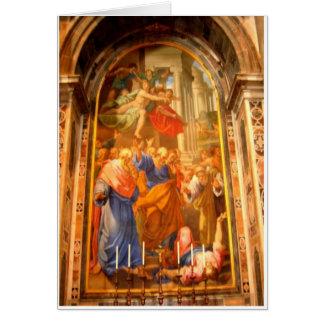 St Peters Tarjeta De Felicitación