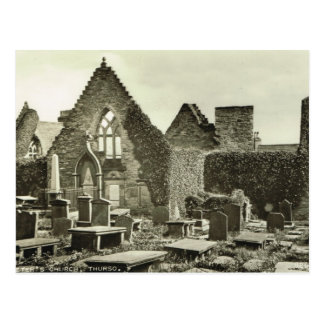 St Peter's Thurso, Scotland Postcard