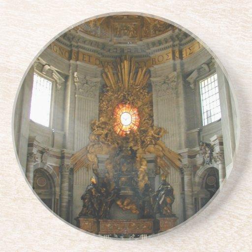 St. Peter's Vatican City Beverage Coasters