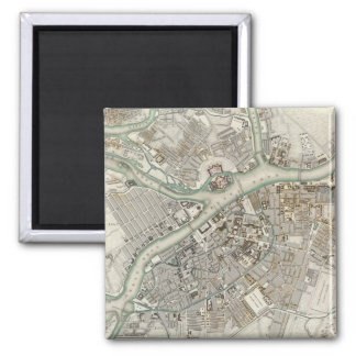 St Petersburg 2 Inch Square Magnet