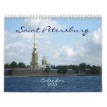 St Petersburg Calendario De Pared